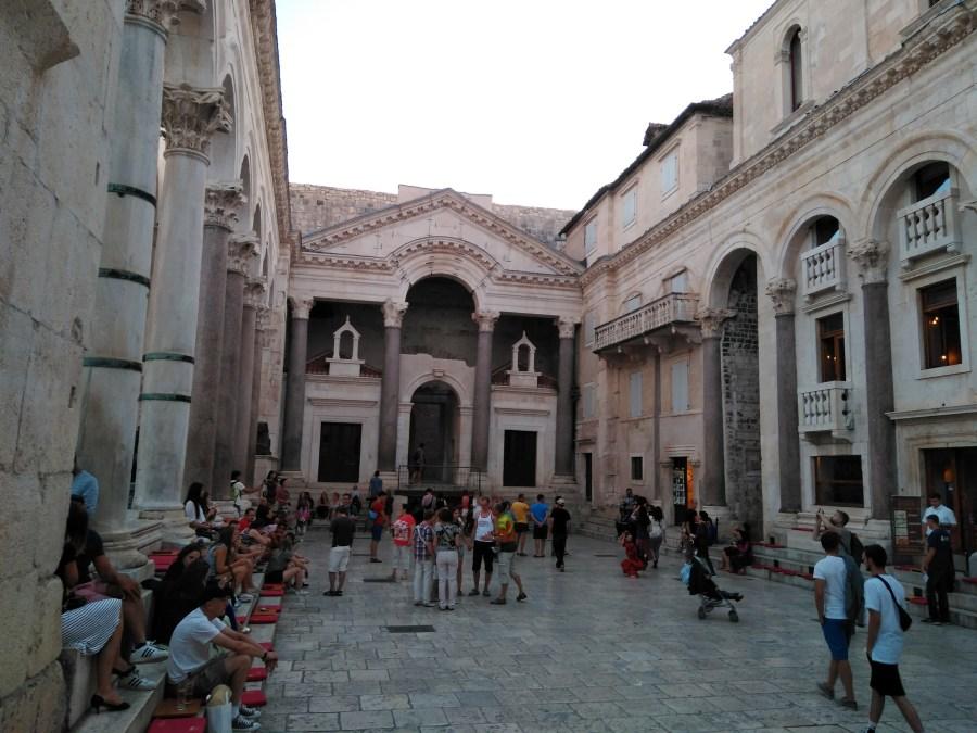 Qué ver en Split. Qué hacer en 3 días. Palacio de Diocleciano.