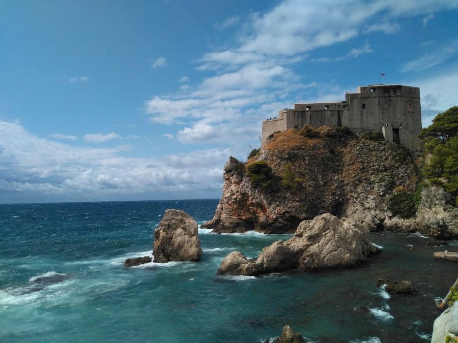 Qué ver en Dubrovnik. Fortaleza de San Lorenzo.