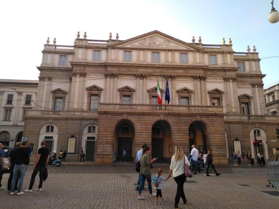 Teatro alla Scala.Comprar entradas Última Cena.