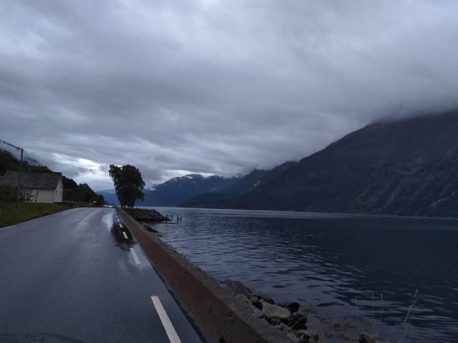 Carretera de Odda a Stavanger.