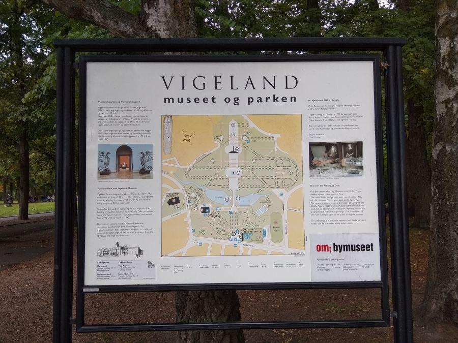 Entrada al Parque Vigeland.