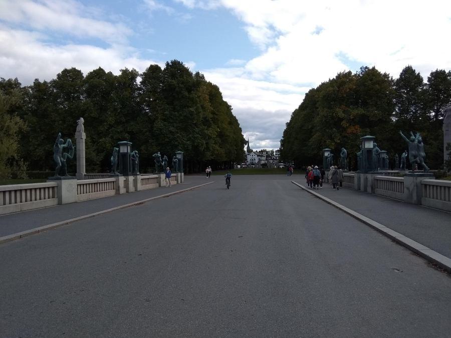 Estatuas en Oslo.