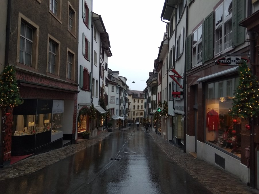 Callecitas mágicas en Basilea.