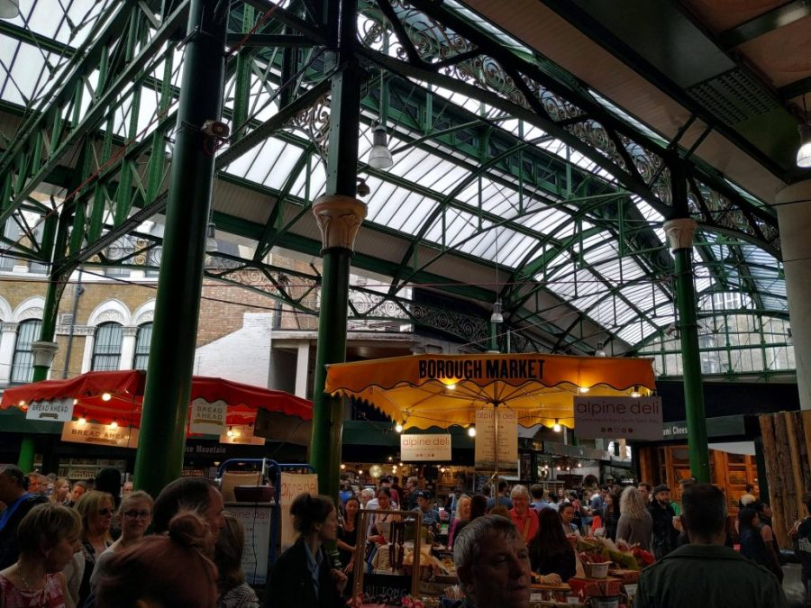Lugares alternativos de Londres. Borough Market.