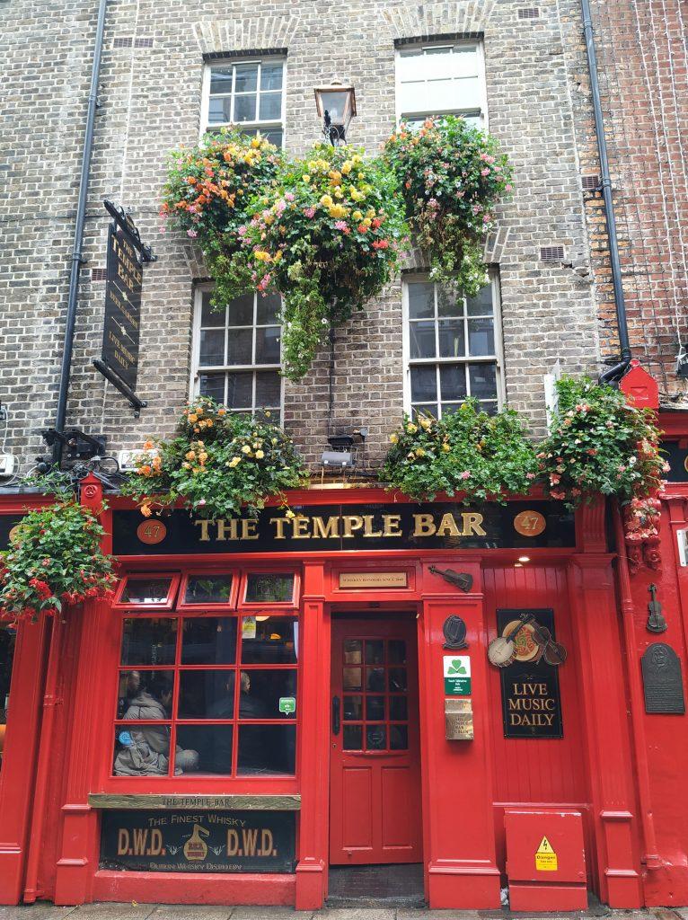 The Temple Bar.