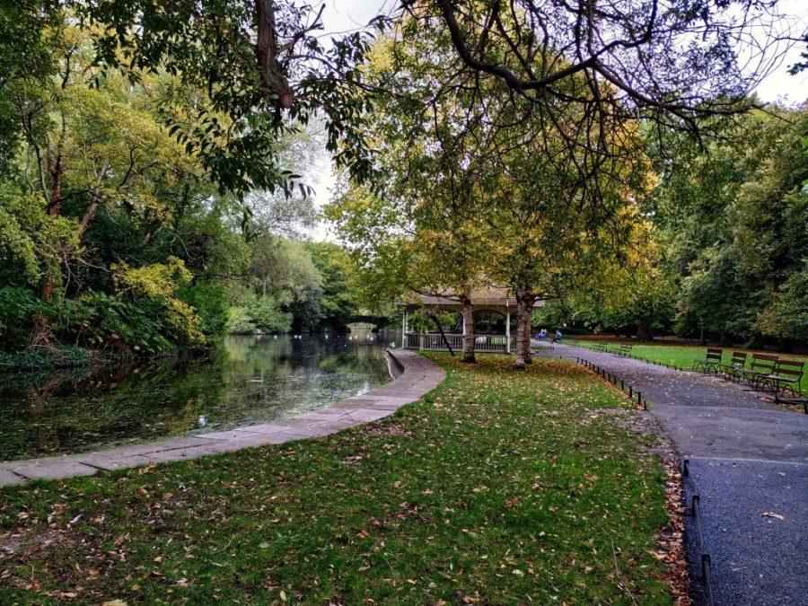 Parque S. Stephen's Green.