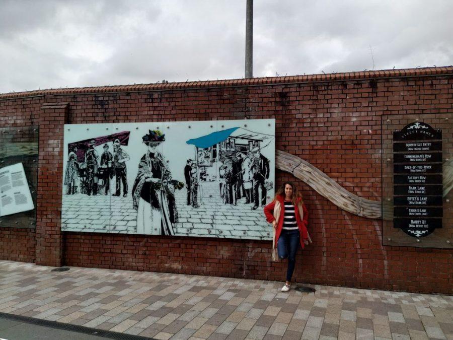 Street art Belfast.