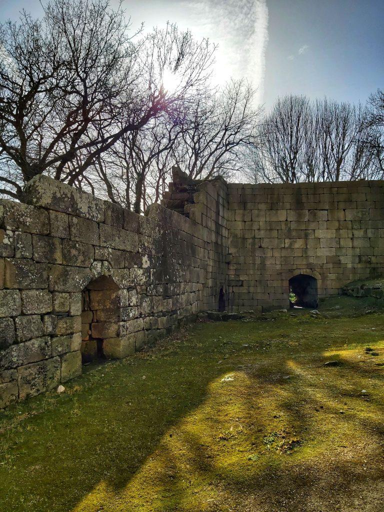 Castillo de Pambre. Palas de Rei, Lugo.