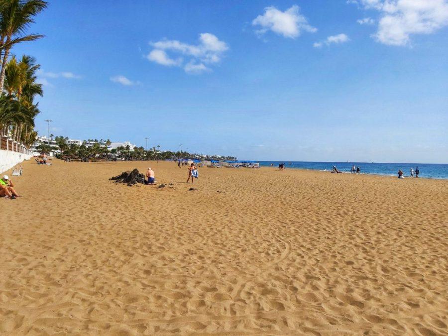 Mejores playas de Lanzarote. Playa Blanca.