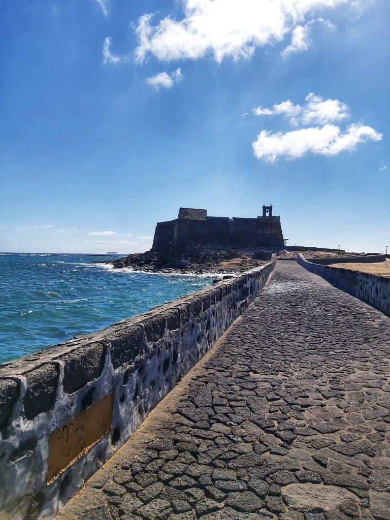 Qué ver en Lanzarote en 3 días. Arrecife. Castillo de San Gabriel.