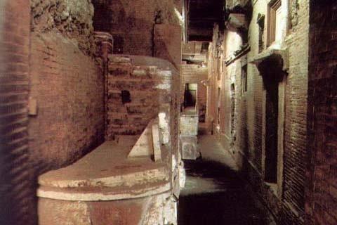 Necrópolis subterráneas del Vaticano.