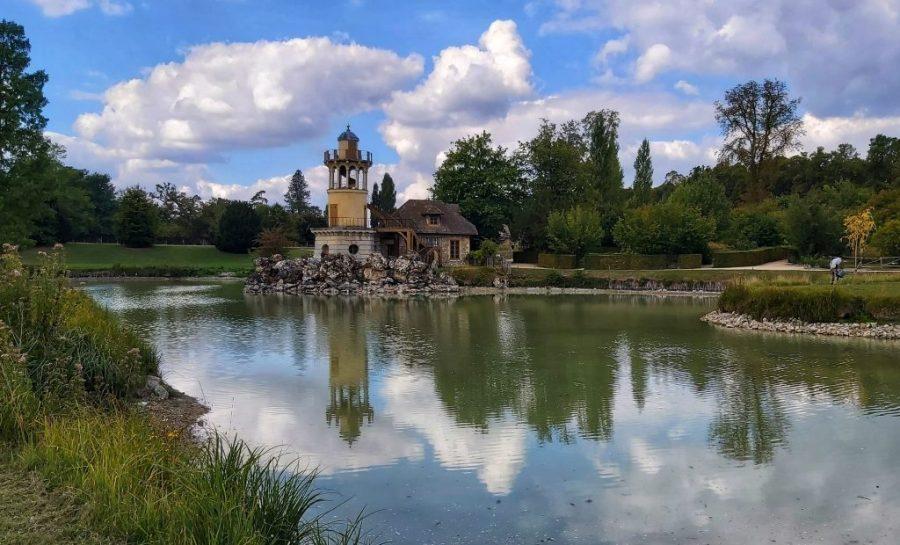 La Torre de Marlborough o Torre de la Pesca. Aldea de la Reina Versailles.
