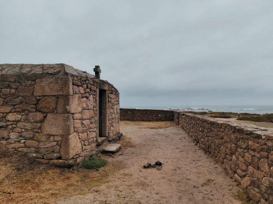 Punta do Boi. Naufragio Serpent Camariñas, Galicia