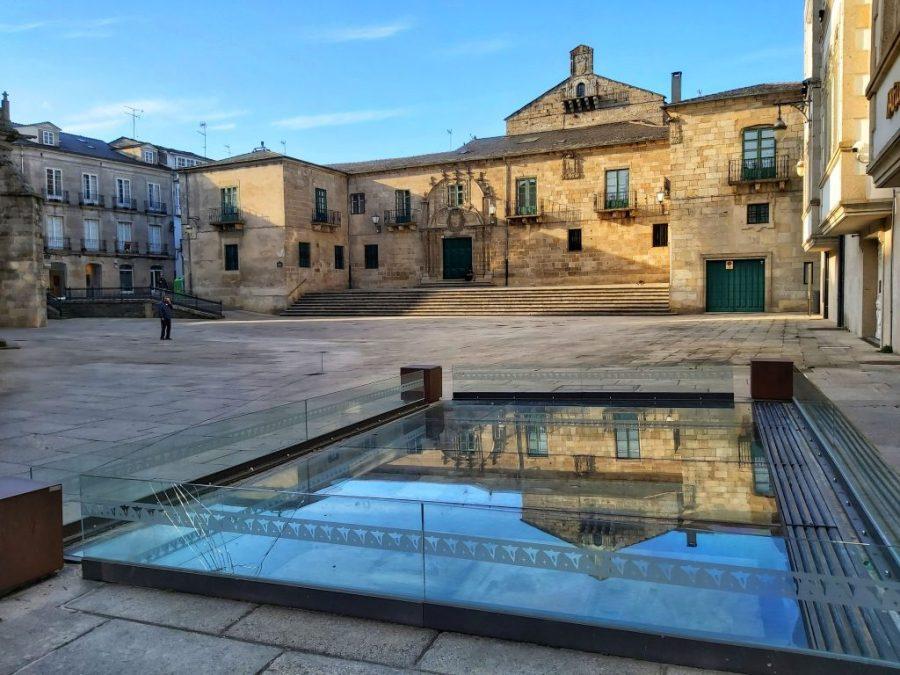 Plaza de Santa María y Palacio Episcopal.