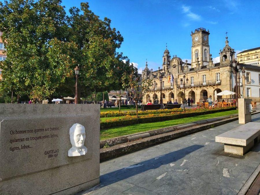 Plaza de España de Lugo