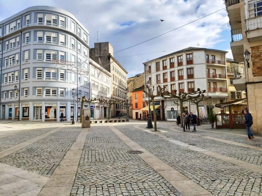 Plaza de la Soledad .