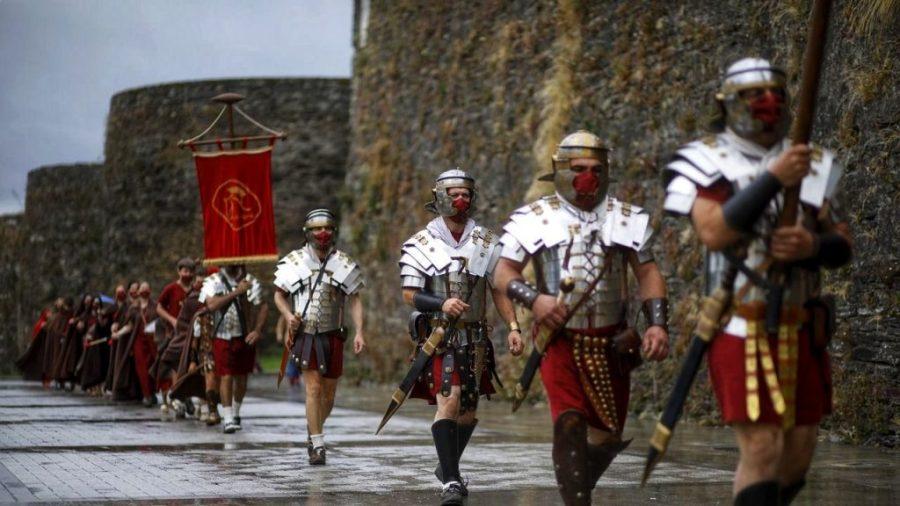 Fiestas importantes en Lugo. Arde Lucus.