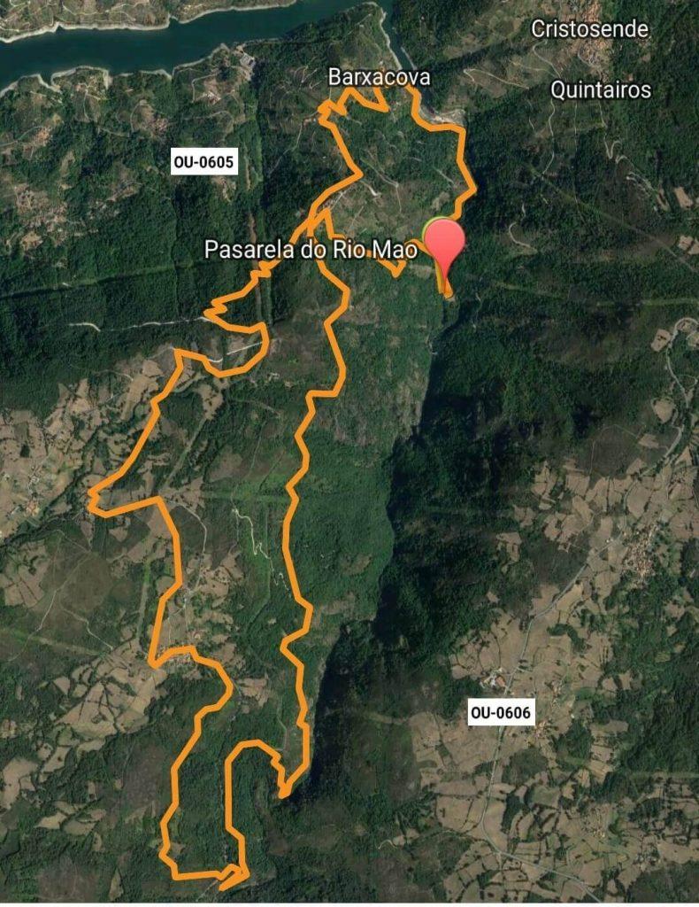 Ruta del río Mao