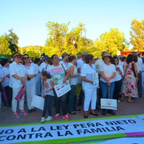 Mientras tanto en el DF, la Marcha por las Familias Diversas