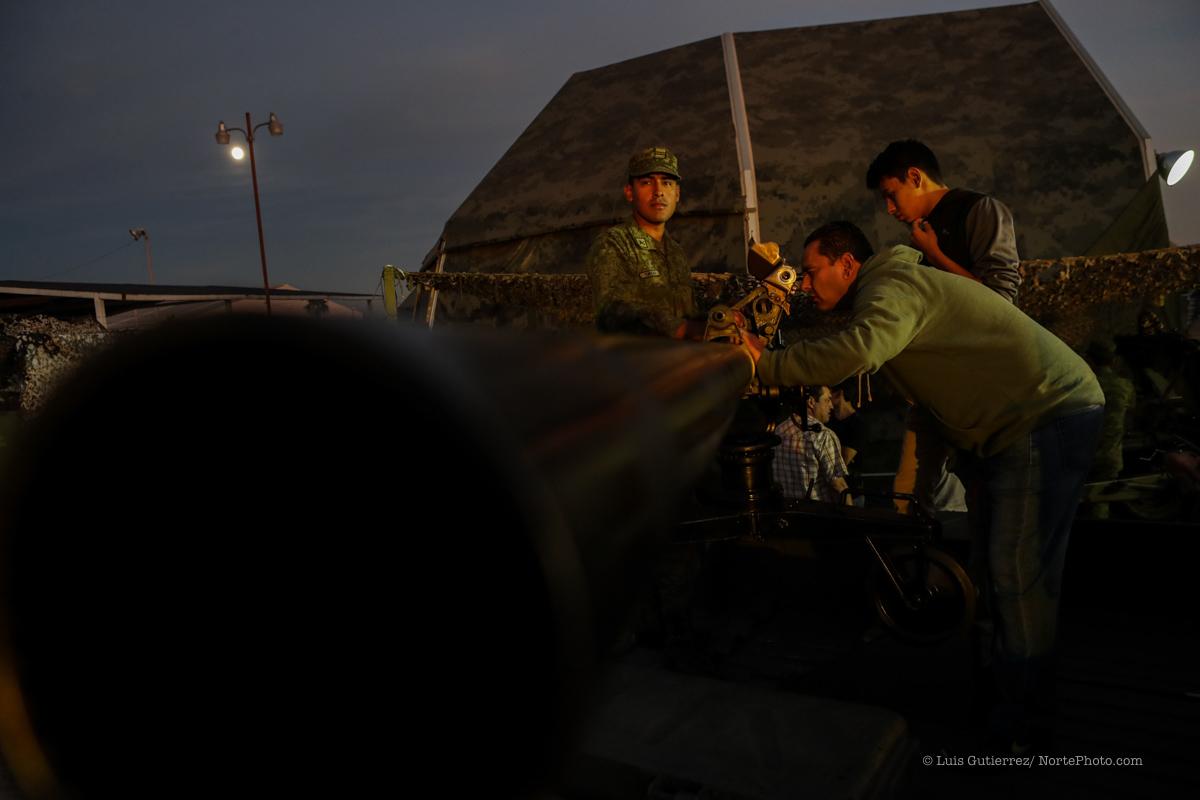 Expo de la industria Fuerza Area y Militar ©Foto: LuisGutierrrez/NortePhoto
