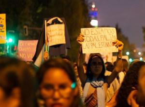 Cartel en la Marcha Feminista del 08/03/2019