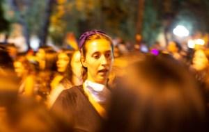 Asistentes a la Marcha Feminista del 08/03/2019