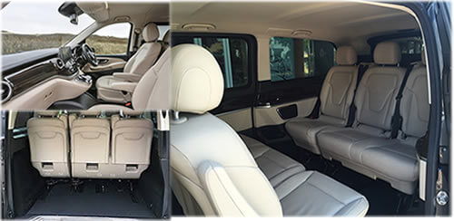 Mercedes Benz V Class Interior 8 Seater