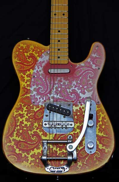 7 Way Wiring Guitar Pink Paisley T Style Guitar With Bigsby For Sale Crook