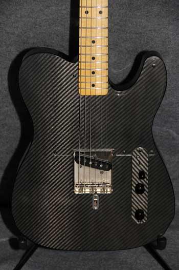 Carbon Fiber EStyle  Crook Custom Guitars