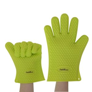 Prefer Green Silicone Grilling Gloves