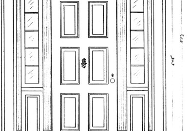 Front Door Drawing