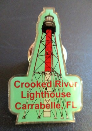 Enamel Pin Featuring Crooked River Lighthouse Tower