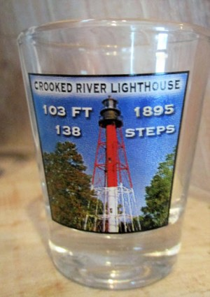 Crooked River Lighthouse Shotglass