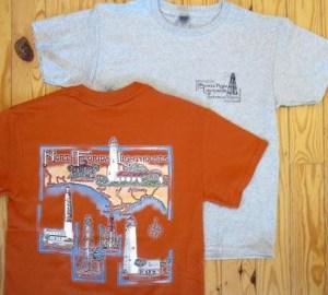 N FL Lighthouses T-shirt