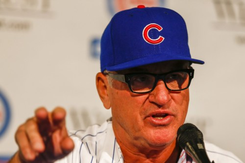 Joe Maddon introduced as new Chicago Cubs manager