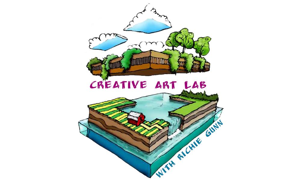 creative art lab with