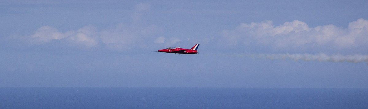 Gnat in Red Arrows livery