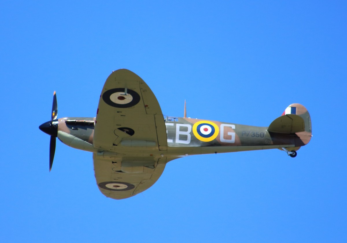 The mighty Spitfire