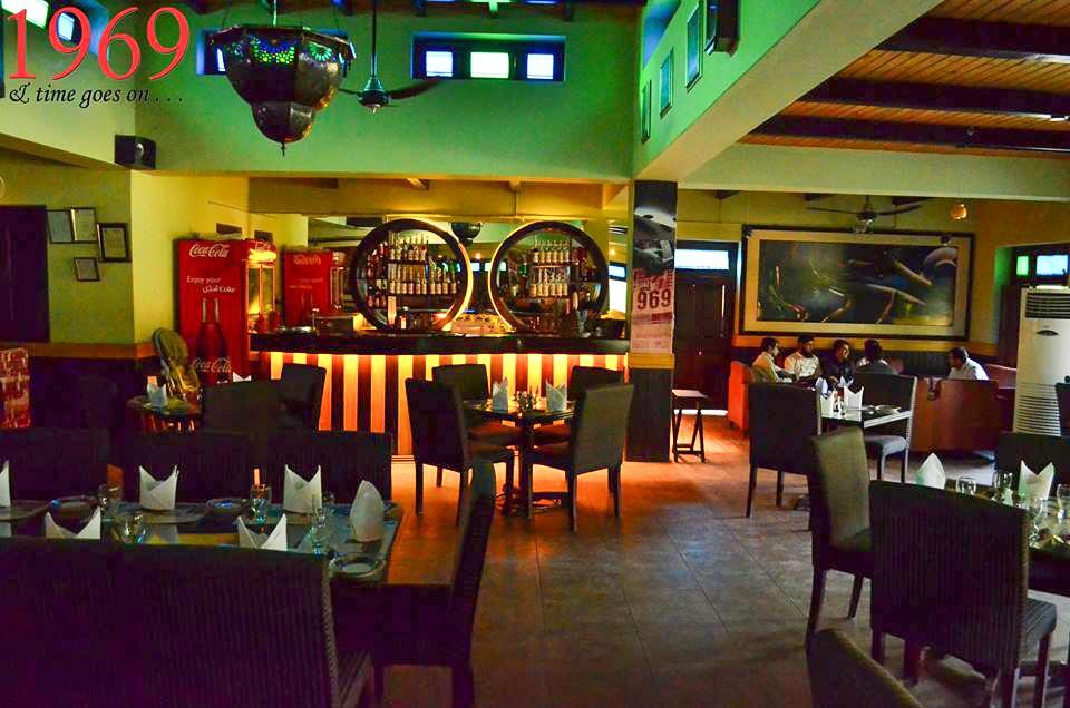 1969  time goes on Restaurant  Islamabad Pakistan  Croozi