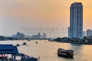 Bangkok's river