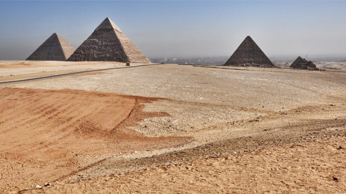 Egypt, Africa: The world's most ancient civilization (and it has the dust to prove it).