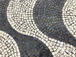 """Calçada, aka """"Portuguese pavement"""""""
