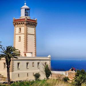 Cape Spartel Lighthouse in Morocco