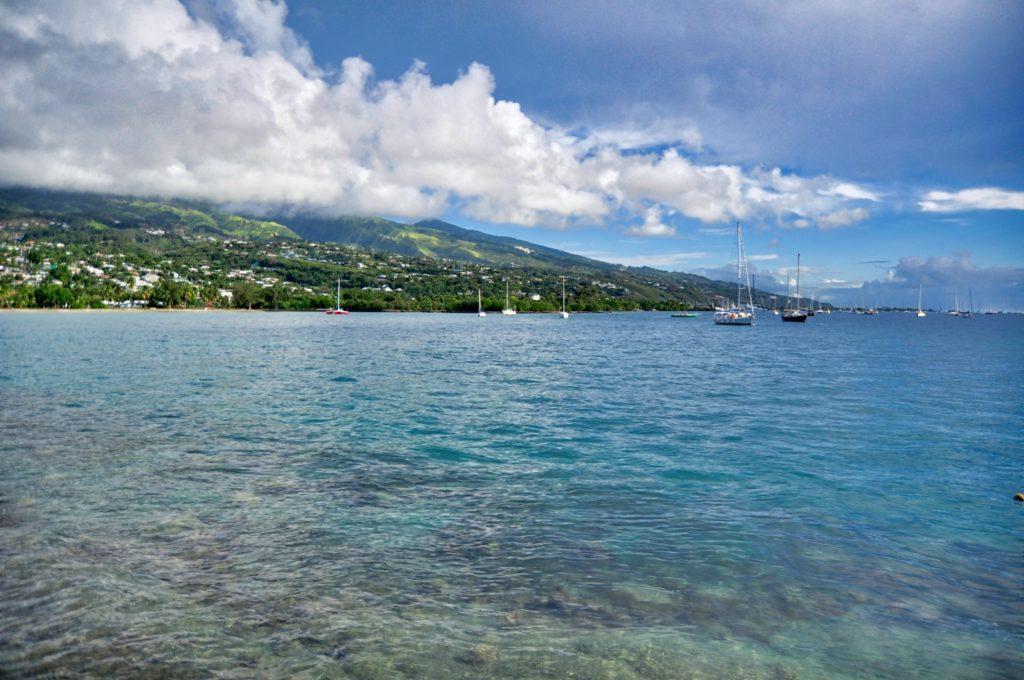 Tahiti's bay