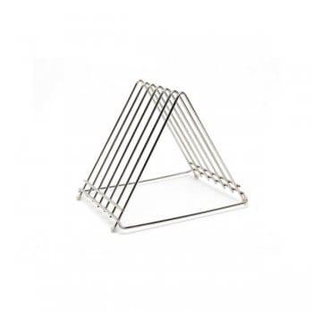 Genware Stainless Steel Wire Cutting board rack