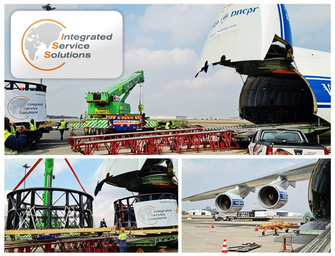 ISS South Africa Transported 2 x 5.9m Trommel Machines up-to an AN 124 for a Gold Mine in West Africa