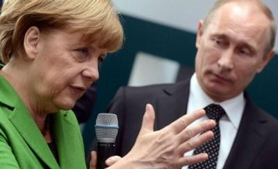 Путин към Меркел: Действията на Украйна са провокация, намесете се