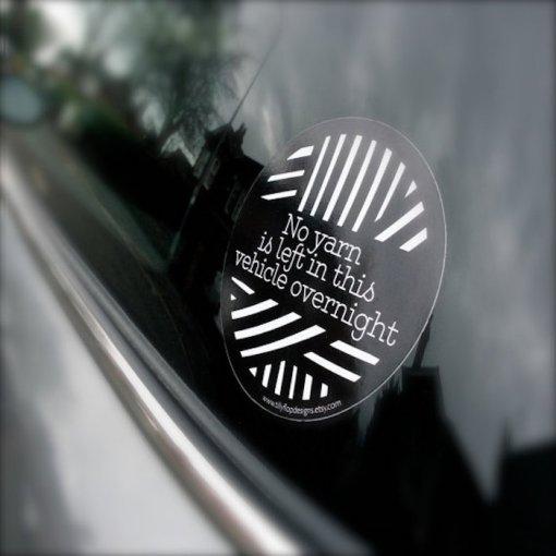 Tilly Flop Bumper sticker