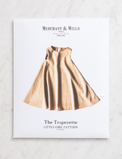 Merchant & Mills The Trapezette Little Girl Sewing Pattern