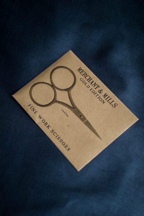 Merchant & Mills Fine Work Scissors Gold Edition 1